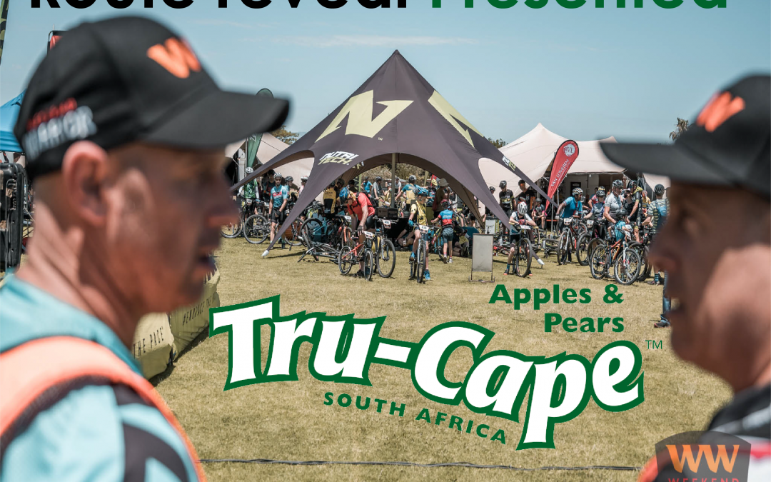 Route reveal: Brought to you by Tru- Cape fruit.