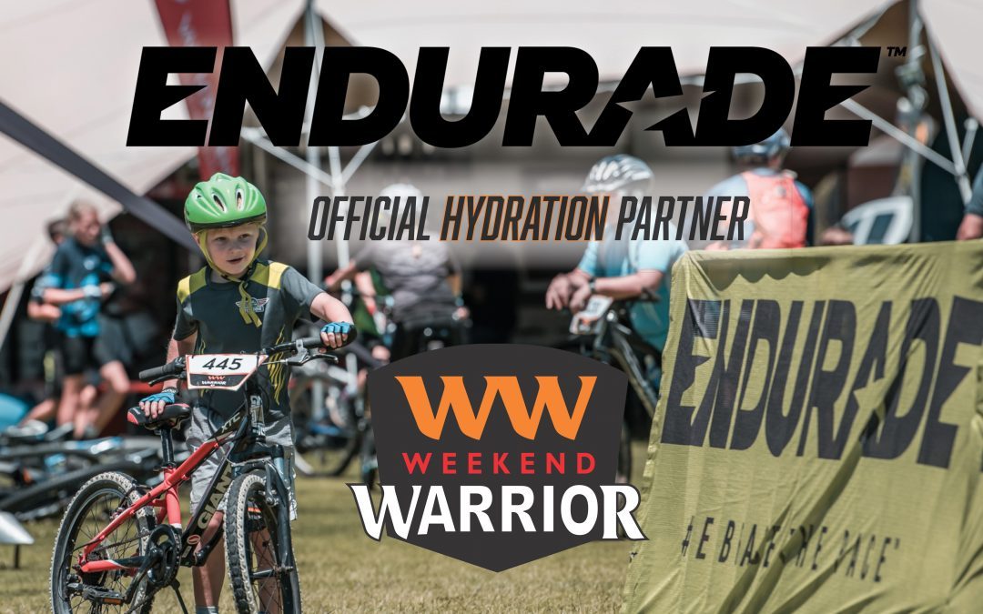 Endurade: The official hydration partner.
